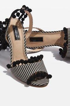 ROM Pom Pom Sandals