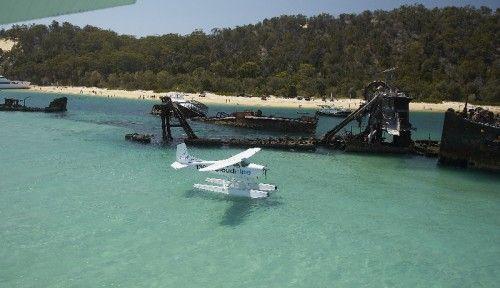 Cloud 9 Seaplane Stradbroke Island Tour