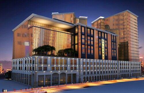 5 star hotel design concept