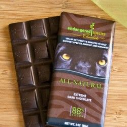 vegansaurus! - Product Review: Endangered Species ORGANIC Chocolate!