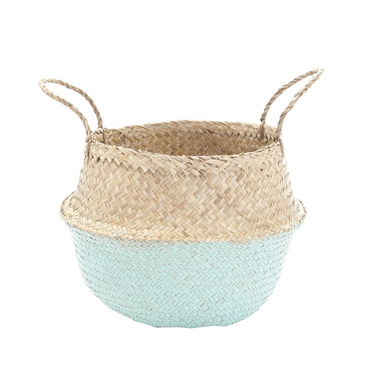 Mint Dipped Belly Basket-M