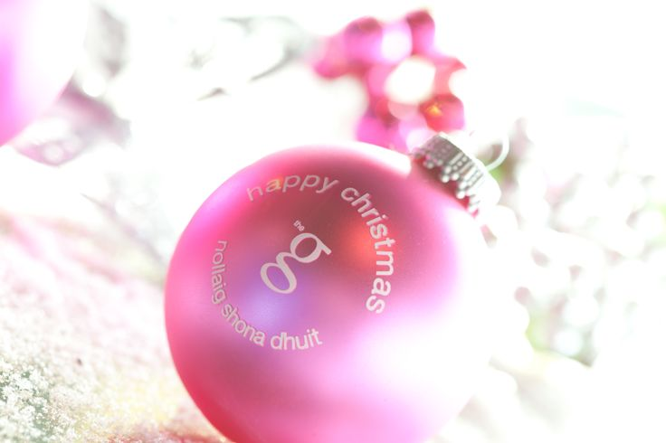 Christmas bauble at the g Hotel & Spa in Galway. www.theghotel.ie