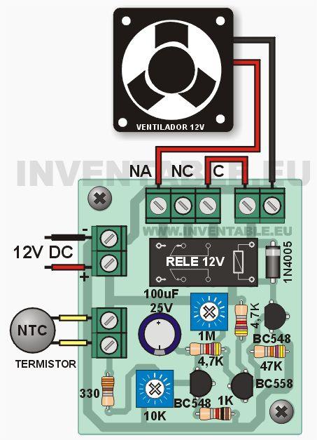 Controlador para ventilador o cooler | Inventable                                                                                                                                                                                 Más