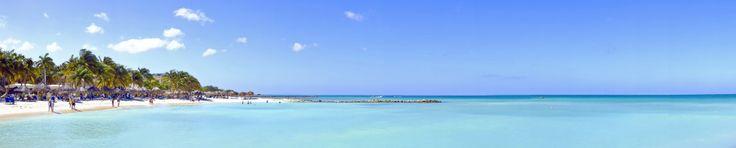 Aruba Strand Karibik
