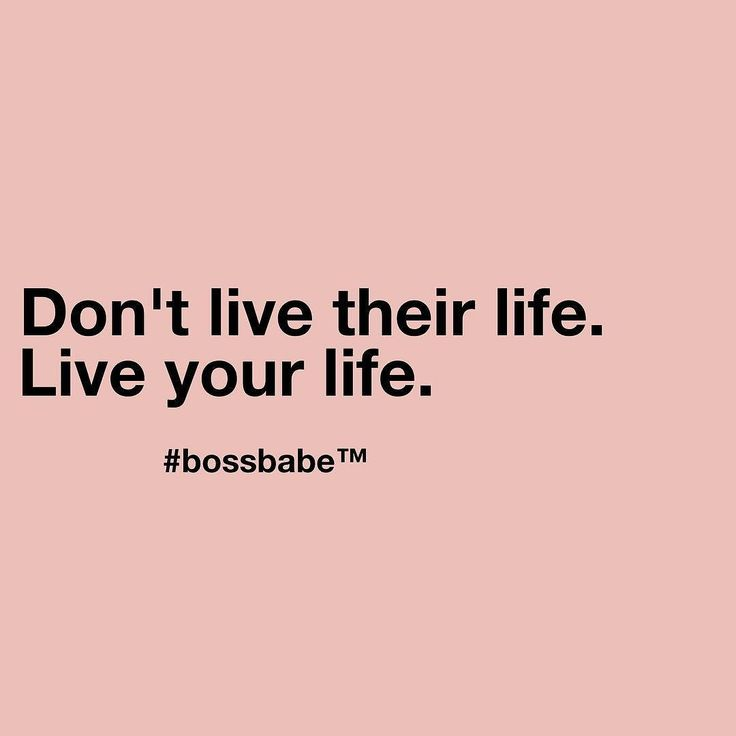 Just Live Your Life Quotes: Too Many People Try To Live The Life Of Others To Find