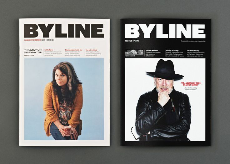 Byline Magazine | Design by S-T