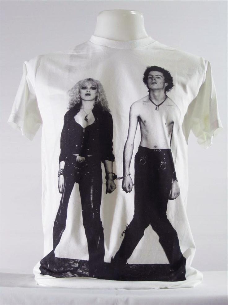 Sid Vicious And Nancy Sex Pistols Suicide Lover Love Kill Women T-Shirt Men T-Shirt Tee Indie Art Pop Punk T-Shirt Rock T-Shirt Size M.