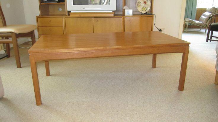 Vintage teak coffee table  probably Parker