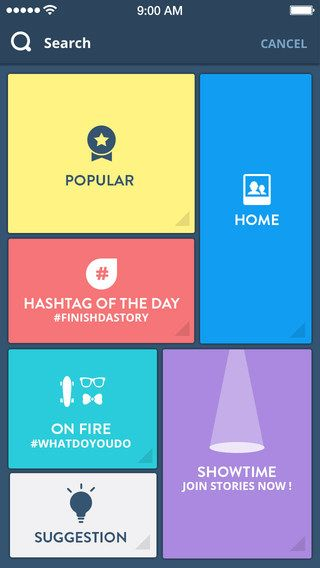 Clapp App - Home by Barthelemy Chalvet
