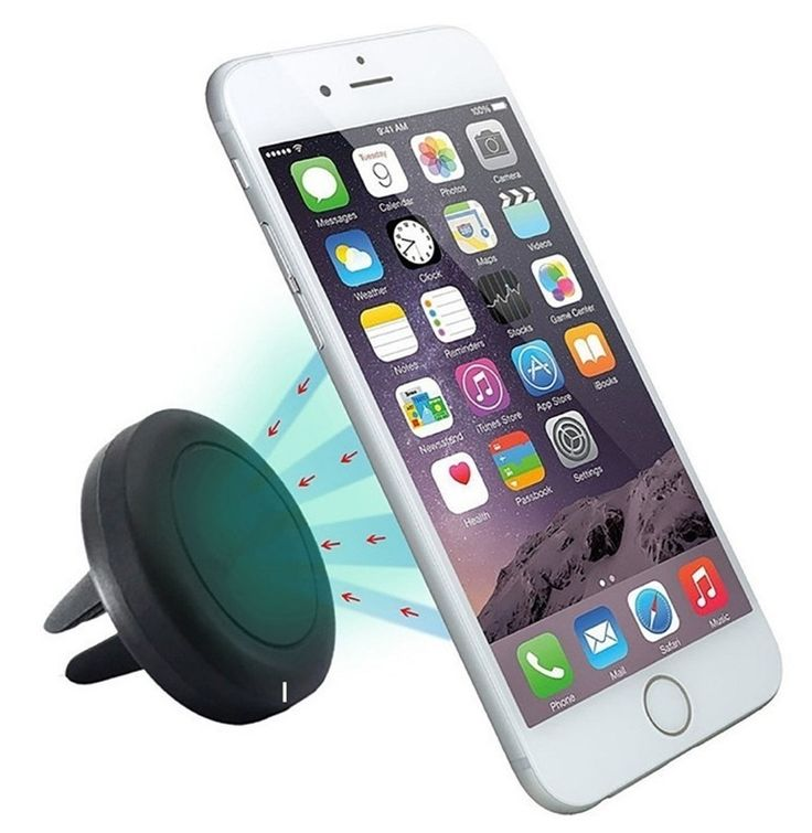 Soporte teléfono movil magnético coche Dexler  #electroncia