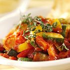 Een heerlijk recept: Ratatouille van courgette aubergine wortel en paprika