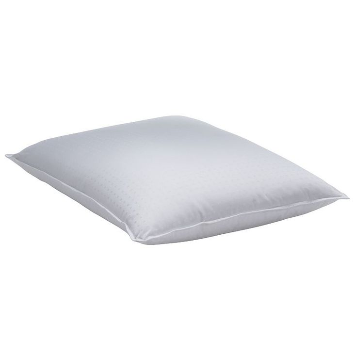 Dream On 400 Thread Count Goose Down Pillow, White