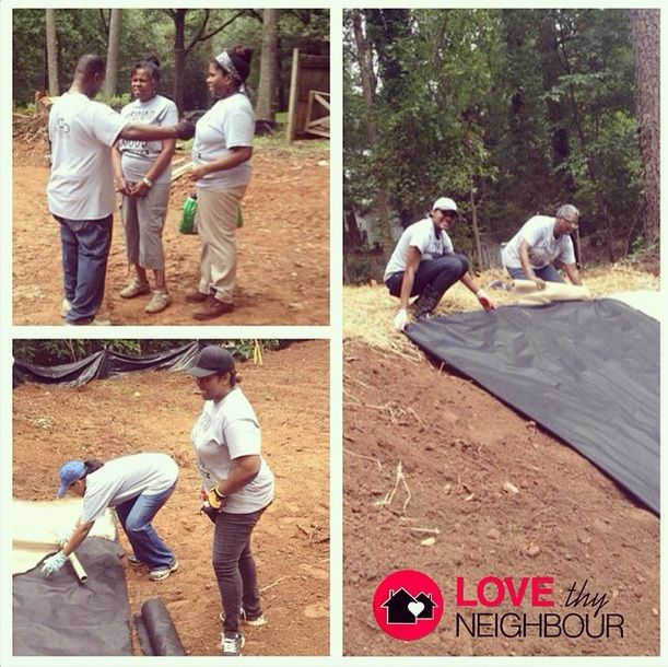 Progress is being made as #CDGM volunteers assisted in preparation of a home build for the Fuller Center this past weekend. #heretohelp #understandinggrace #empoweringchange #expandingthegood #worldchangers