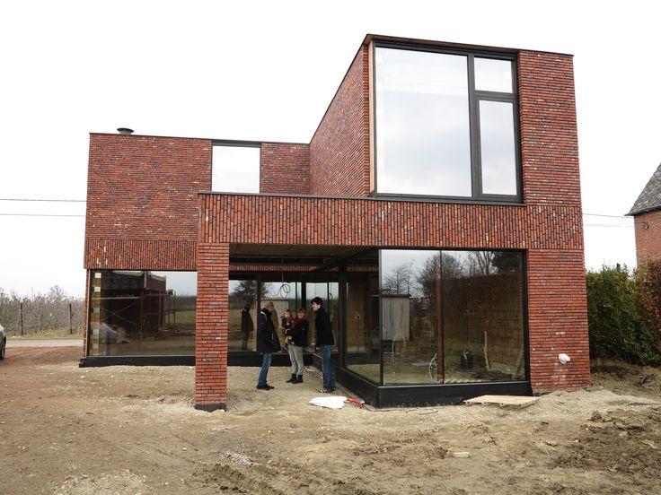 Egide Meertens Plus Architecten - Wienerberger Hectic - Reynaers Aluminium