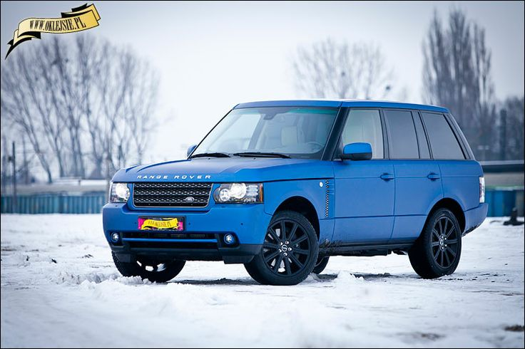 range rover wrapped with arlon deep ocean by www.oklejsie.pl