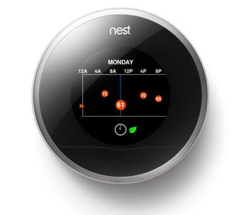 A new thermostat invention that shutts down if no motion is being detected and makes daily patterns to know when nobody is at home.This is a good article of our newest technology inventions we have coming soon.(4622)10/2/12