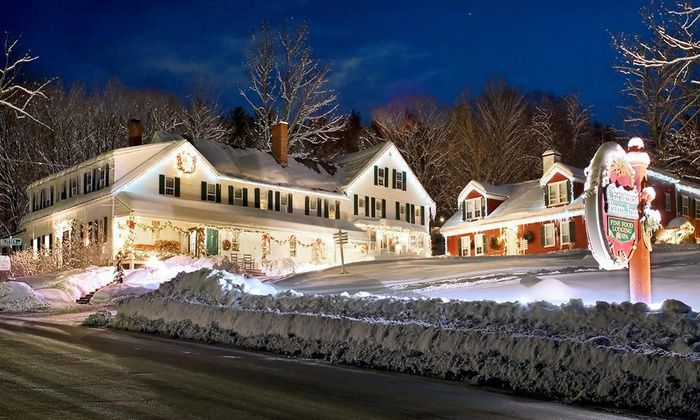 Dress It Down: Christmas Tree Inn & Spa, Jackson, NH | Winter Getaway  Wedding | Pinterest | Christmas farm, Places and Christmas. - Dress It Down: Christmas Tree Inn & Spa, Jackson, NH Winter