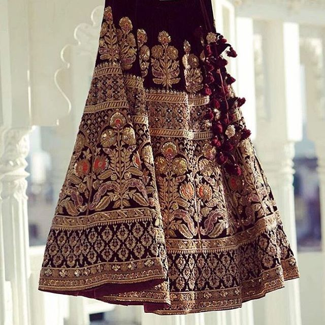 #Sabyasachi #TheSabyasachiBride #Lehenga #HeritageWeddings #DreamWeddings @bridesofsabyasachi #HandCraftedInIndia #IncredibleIndianWeddings #DestinationWeddings #TheWorldOfSabyasachi Photograph by @weddingsutra