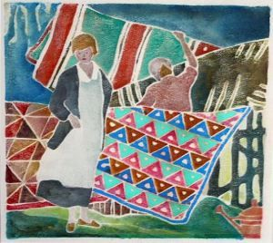 edna boies hopkins | Ragged Cloth Cafe, serving Art and Textiles