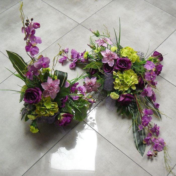 Stroik Na Grob Kompozycja Nagrobna Bukiet Roze Hortensja Storczyk Gora Olx Pl Floral Wreaths Floral Wreath