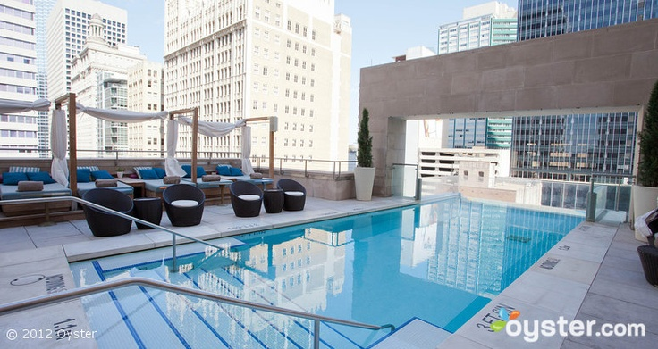 Pool at The Joule, A Luxury Collection Hotel - Dallas, Texas