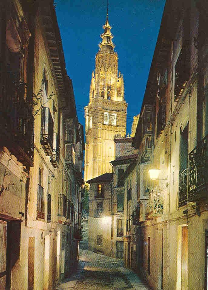 Toledo, Spain, (made me feel claustrophobic)