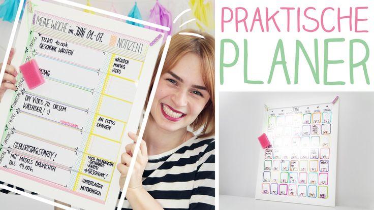 Eine super schnelle, einfache Idee Wochen,- oder Monatsplaner zu machen. Immer gut organisiert ;) mobile Endcard: Memo-Klammern: http://a4f.cc/MemoWand Bilde...