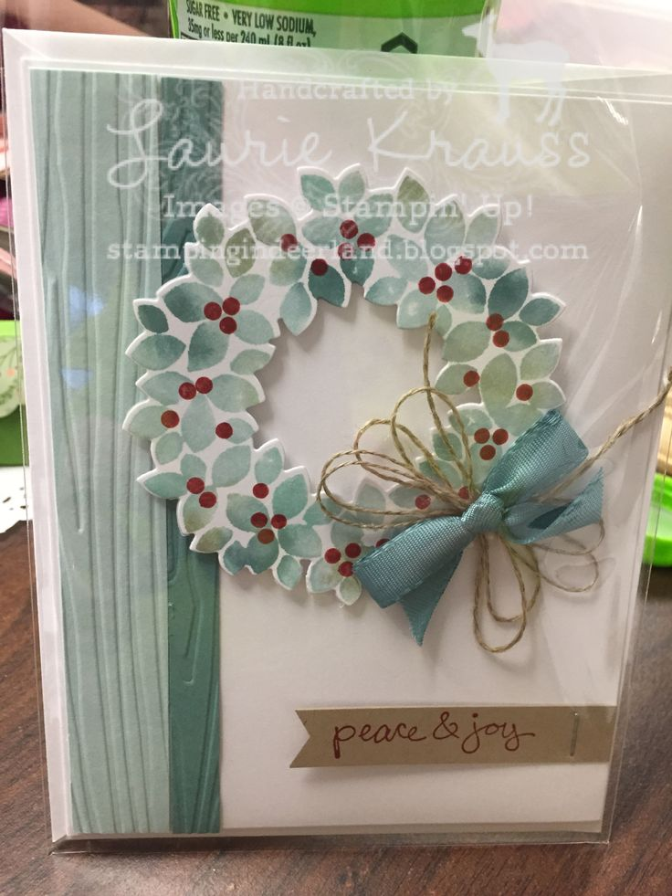 Wondrous Wreath, Stampin' Up