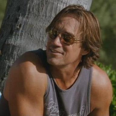 Handsome Kevin Sorbo.
