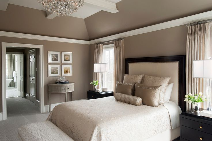 Transitional Master Bedroom