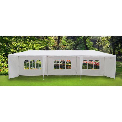 Pour acheter votre Magnifique tente de jardin pergola 3x9m massilia toile blanche hercules tonnelle chapiteau réception pas cher et au meilleur prix : Rueducommerce, c'est le spécialiste du Magnifique tente de jardin pergola 3x9m massilia toile ...