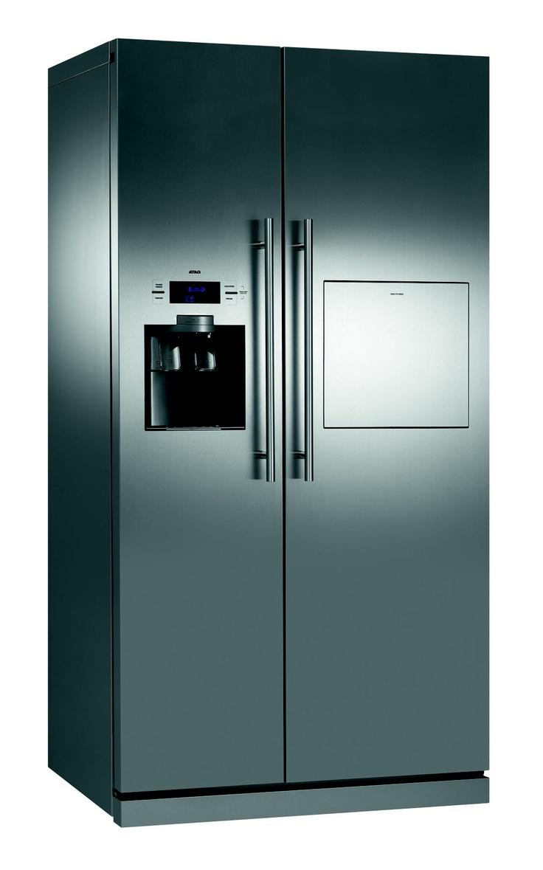 Side by side koelkast met minibar Voor meer informatie: jamie ...