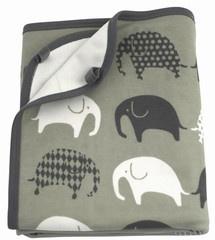 Baby blankets Littlephant Grey-grey