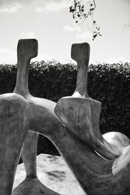 Henry Moore at Grounds for Sculpture, Hamilton, NJ