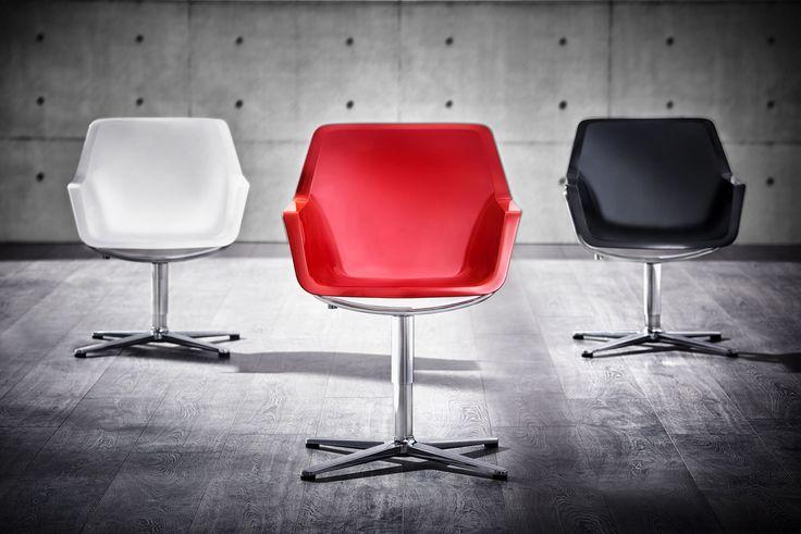 Кресло RE-PEND - элегантность в ракушке. Легкая форма очертания. Здесь качание допустимо и преднамеренно. «Концепт маятника» - универсальное, мягкое сиденье мягко качается вместе.