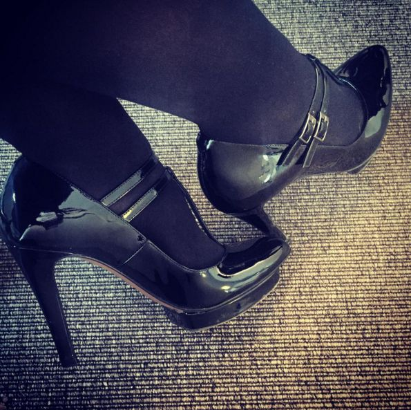 Gro Ladiges says work is more fun in heels. We couldn't agree more! Thanks for sharing ♥