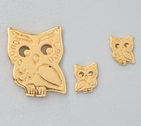 Gorjana   Owl Stud Earrings  @Wendy Werley-Williams.shoeholic.co.kr