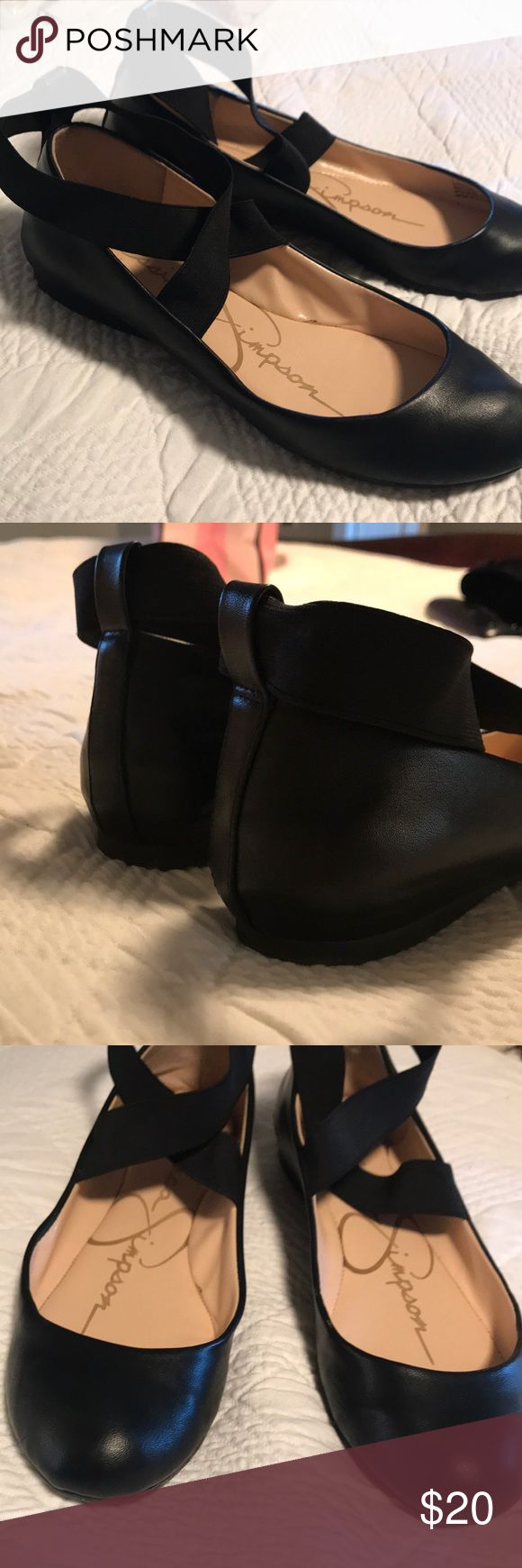 Jessica Simpson Ballet Flats These ballet flats are so fun! Can be worn with leggings or a dress! Super comfy! Jessica Simpson Shoes Flats & Loafers