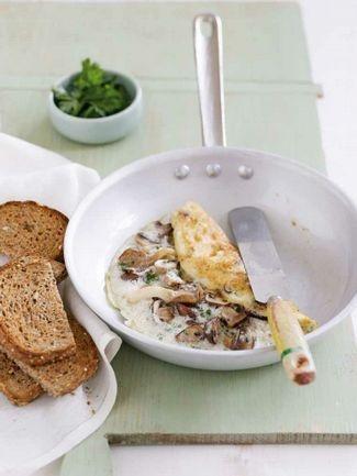Mushroom Omelette by Michelle Bridges