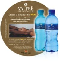 Valpre fridge decal with competition