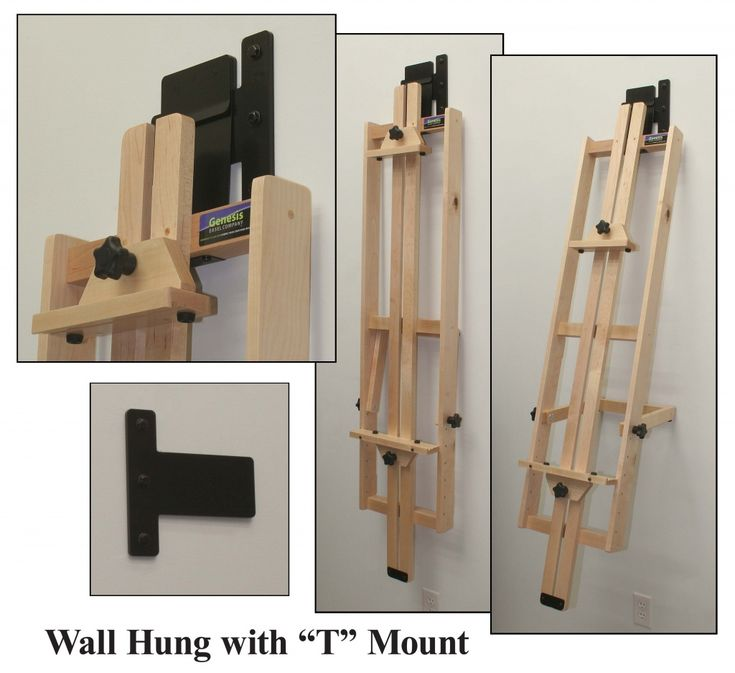 Genesis Wall Hung Artist Easel Home Studio Pinterest