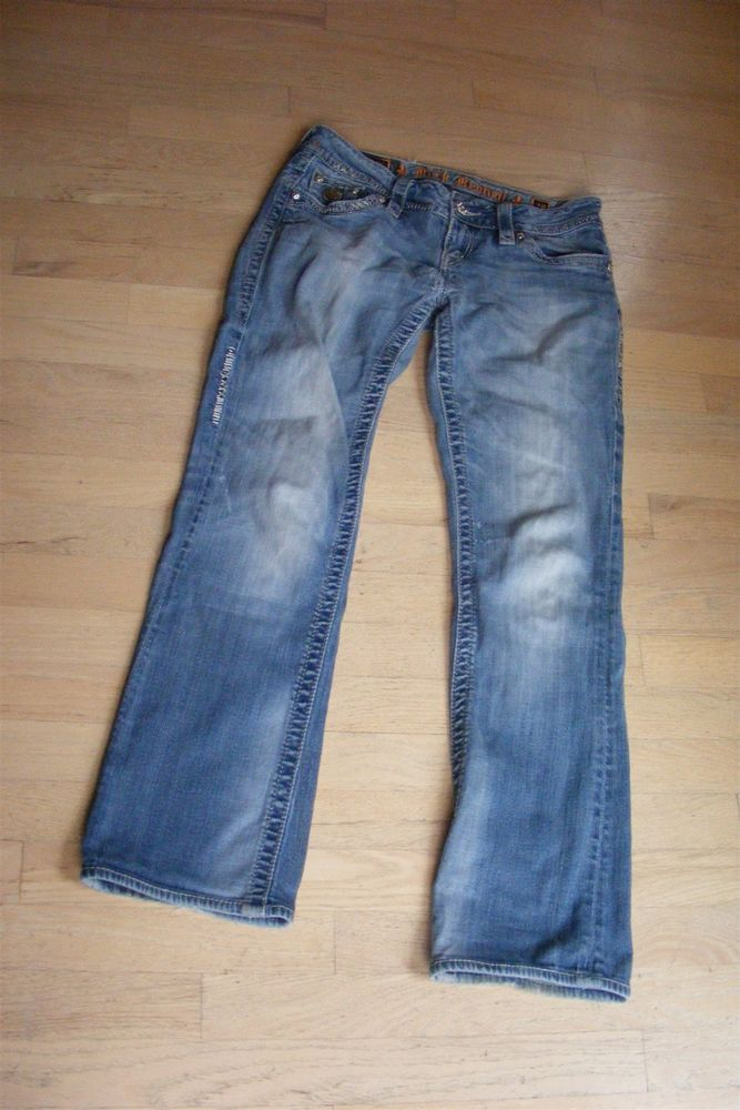 ROCK REVIVAL CELINE BOOT DENIM JEANS WOMENS SIZE 28 31  fashion  clothing   8ab2591d7da0d