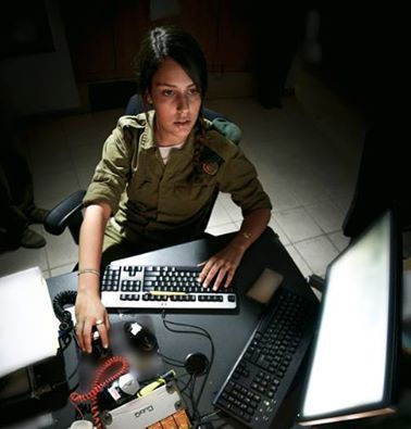 """#FriendsOfTheIDF(FIDF) .......... Meet Corporal Lihi Meir of the IDF Field Intelligence Corps. This past summer, she helped identify and prevent two attempted terrorist infiltrations on the Gaza border. In her words, """"It's a huge weight on the shoulders of a 20-year-old girl. But that's why I'm here. It's my duty."""""""