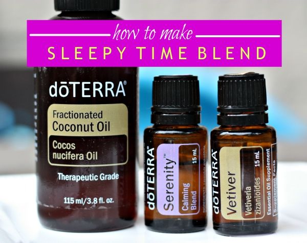 Essential oils for better sleep