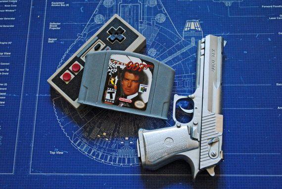 N64 Cart Soap: Retro and geeky Handmade cartridge by NerdySoap