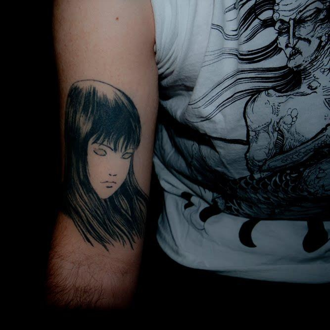 Horror Manga Tattoo