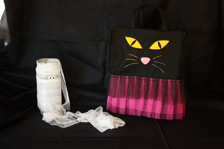 Halloween Cat Bag  ---  Bolso gato Halloween