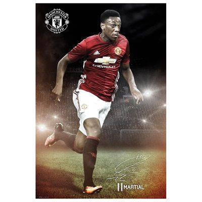 Manchester United 16-17 Martial Poster - 61 x 92cm: Manchester United 16-17 Martial Poster - 61… #ManUtdShop #MUFCShop #ManchesterUnitedShop