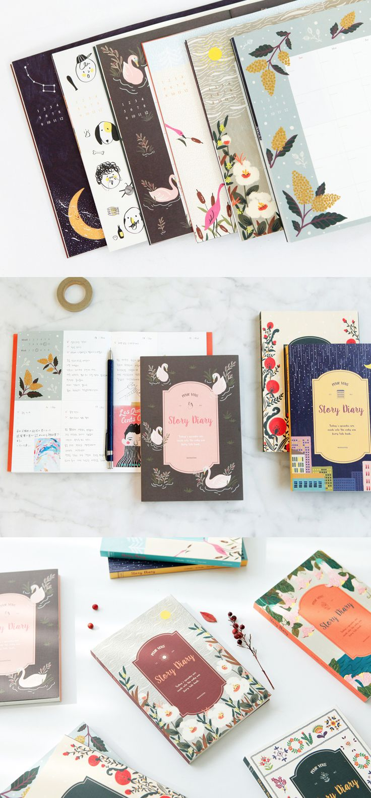 Pour Vous Story Diary Scheduler