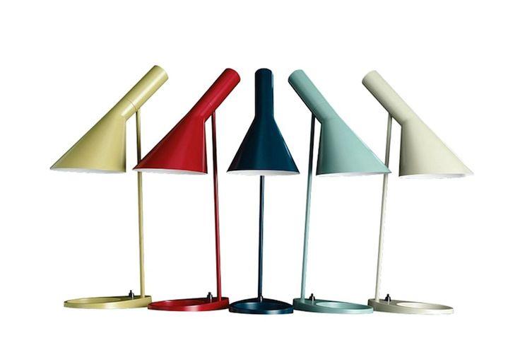 Lampe de bureau AJ 8 coloris Jacobsen, Arne : Luminaires design Poulsen, Louis - Design Ikonik